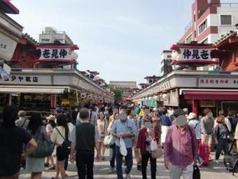 浅草三社祭り。