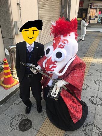 浅草にて出没!?